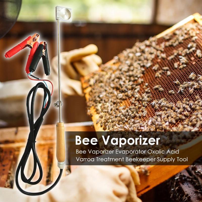 Bee Vaporizer 12V Heating Electric Beekeeper Oxalic Acid Varroa Treatment Supply Practical Outdoor Beekeeping Accessories New