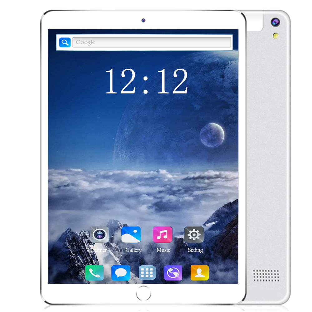 YAHU 10 Core 128GB ROM 10.1 Inch Tablet PC 6GB RAM Dual SIM  WiFi 4G LTE Bluetooth Android 8.0 Glass Tablets 10 The Tablet