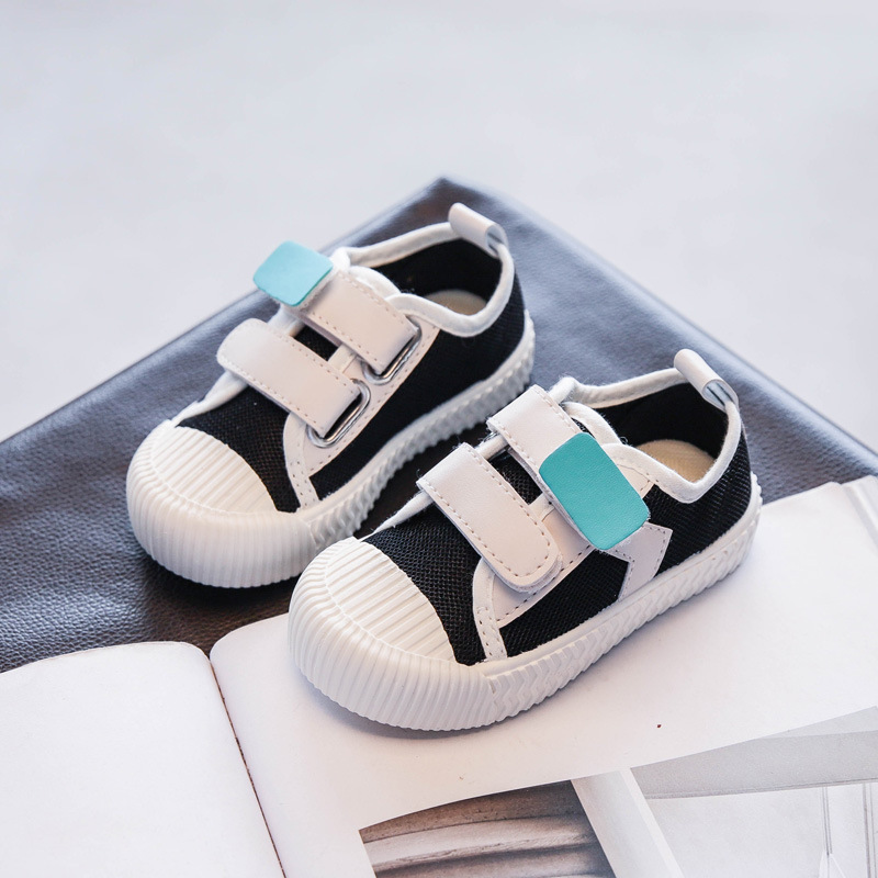 TriUrsus Kids Boys Girls Canvas Shoes 2020 Spring Summer Children's Casual Shoes Candy Color Toddler Sneakers Drop Shipping