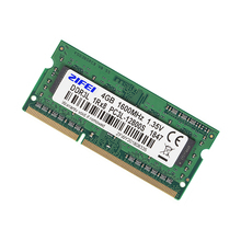 Sodimm Memory 4gb Ddr3l 1600/1333-Mhz Laptop 204PIN for Double-Model 1r--8/2r--8