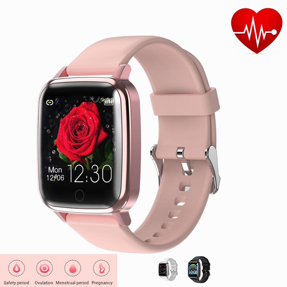 Pour femme homme tension artérielle moniteur de pouls Sport Bracelet horloge nouvel an cadeau toucher santé Bracelet fréquence cardiaque Smartwatch 11.11