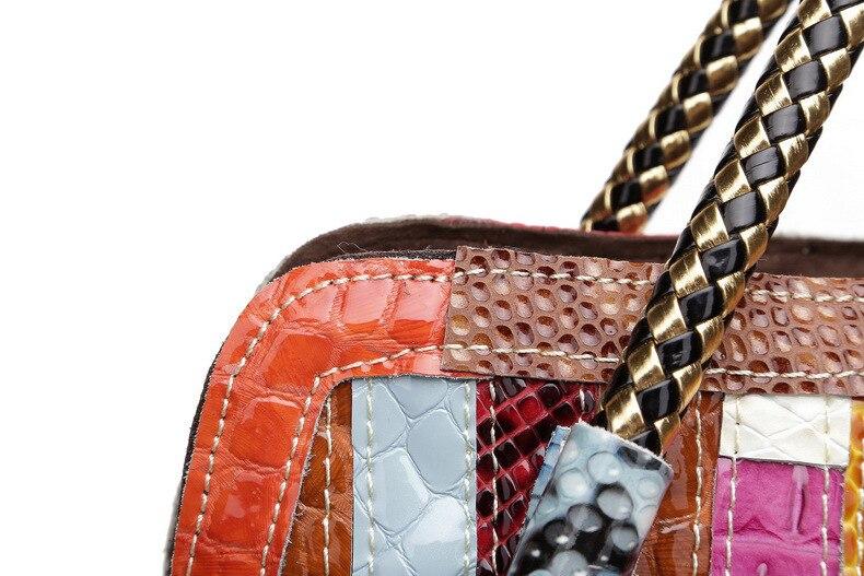 couro paillette bolsas de luxo bolsas femininas