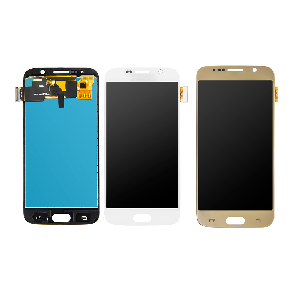 AAA LCD For <font><b>Samsung</b></font> Galaxy <font><b>S6</b></font> G920 LCD <font><b>SM</b></font>-<font><b>G920F</b></font> <font><b>G920F</b></font> G920FD LCD Display Touch Screen Digitizer Glass Assembly image