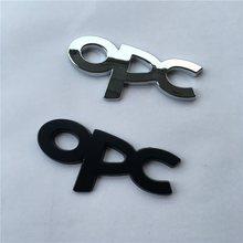 Badge autocollant 3D en métal OPC, pour OPEL Mokka Corsa Meriva Zafira Astra J H G Vectra Antara Insignia