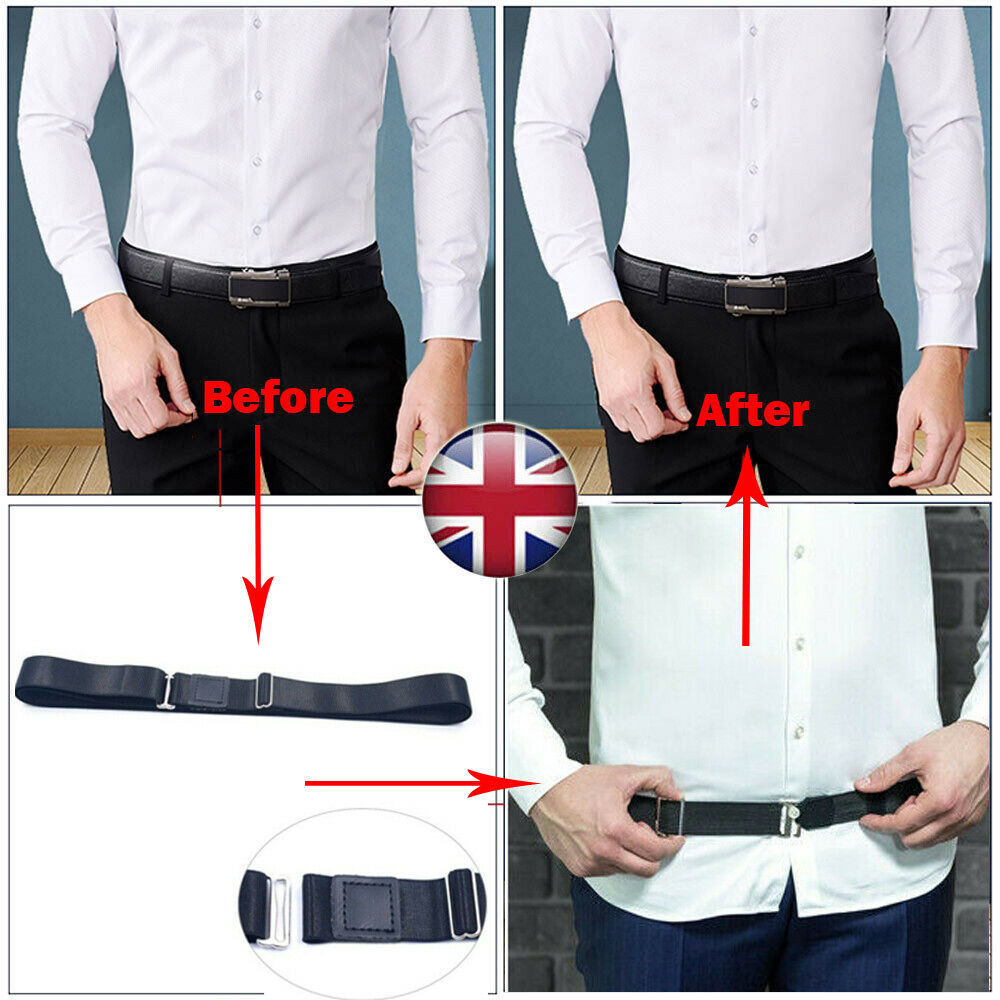 Easy Shirt Holder Adjustable Near Shirt Stay Best Tuck It Belt For Women Men Work Interview