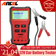 ANCEL BST100 testeur de batterie de voiture chargeur analyseur 12V 2000CCA tension batterie Test testeur de batterie de voiture charge Cricut outils de charge outillage
