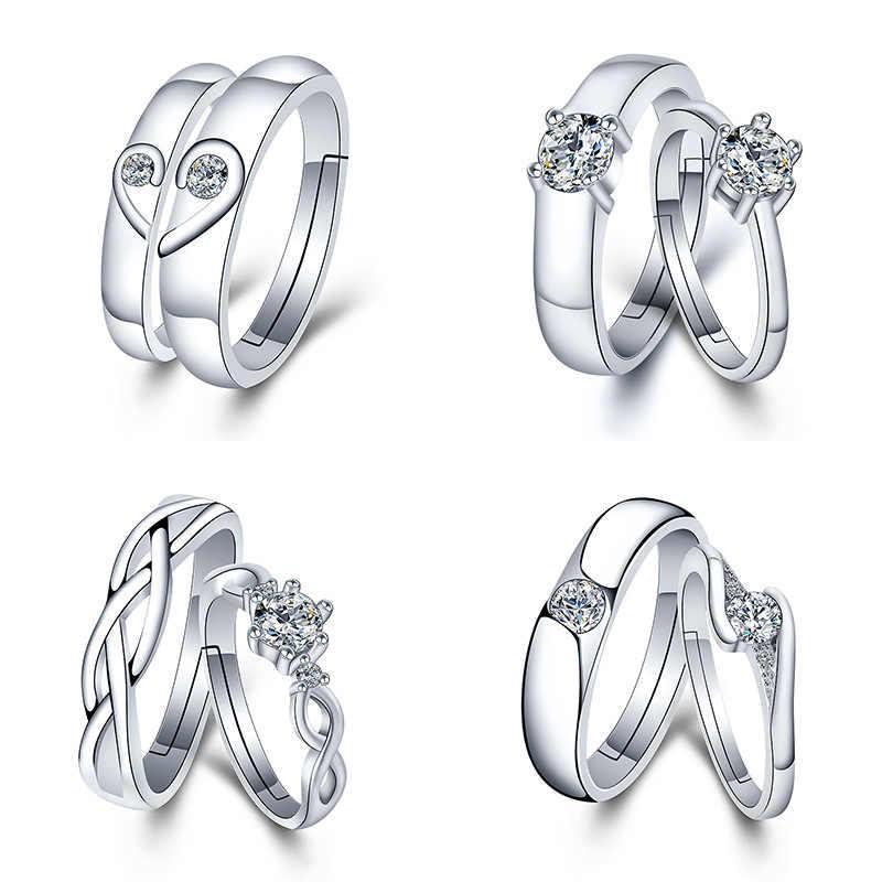 1 pièces anneaux pour hommes et femmes fête faveurs cadeau pour petite amie Bracelet saint valentin cadeaux pour mariage Souvenir Bedankje fête