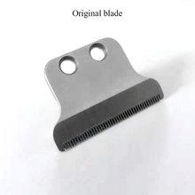 Kemei-cortadora de pelo de acero inoxidable, hoja en T original, 0mm, cabezal baldhead, accesorios para cortadora de pelo