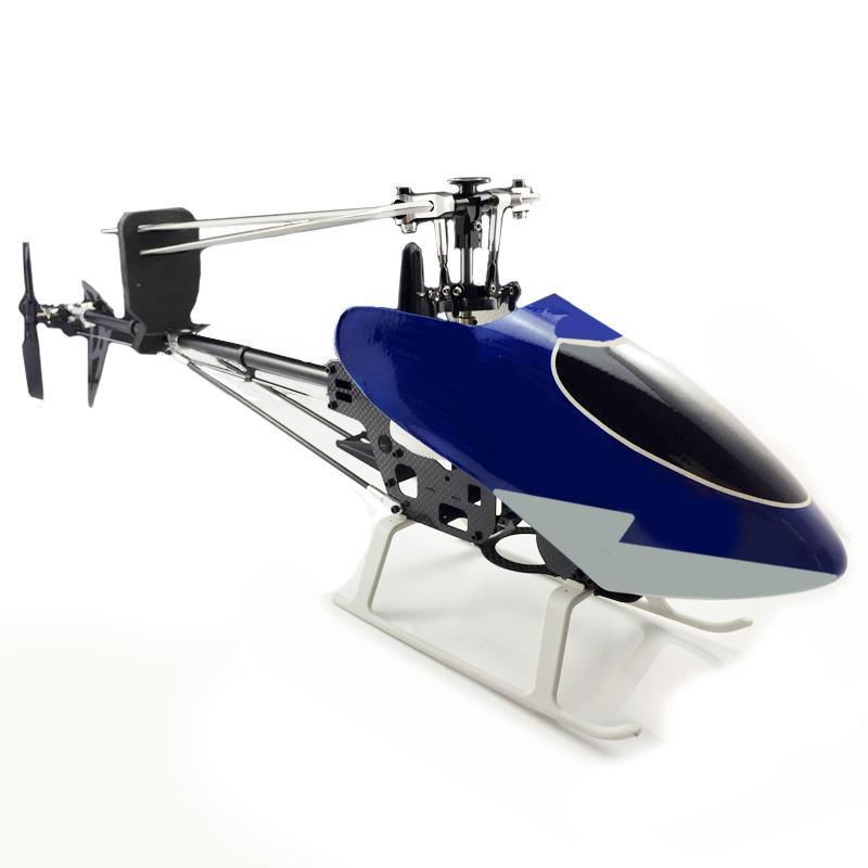 2 Pcs Pro Plastic Canopy Blue For T-rex Trex 450 Pro Helicopter