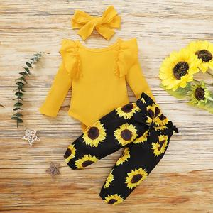 0-18M Newborn Baby Girls Clothes Baby Girl Outfits Toddler Girls Clothing Sets Little Girls Clothing Infant New Born Clothes Set