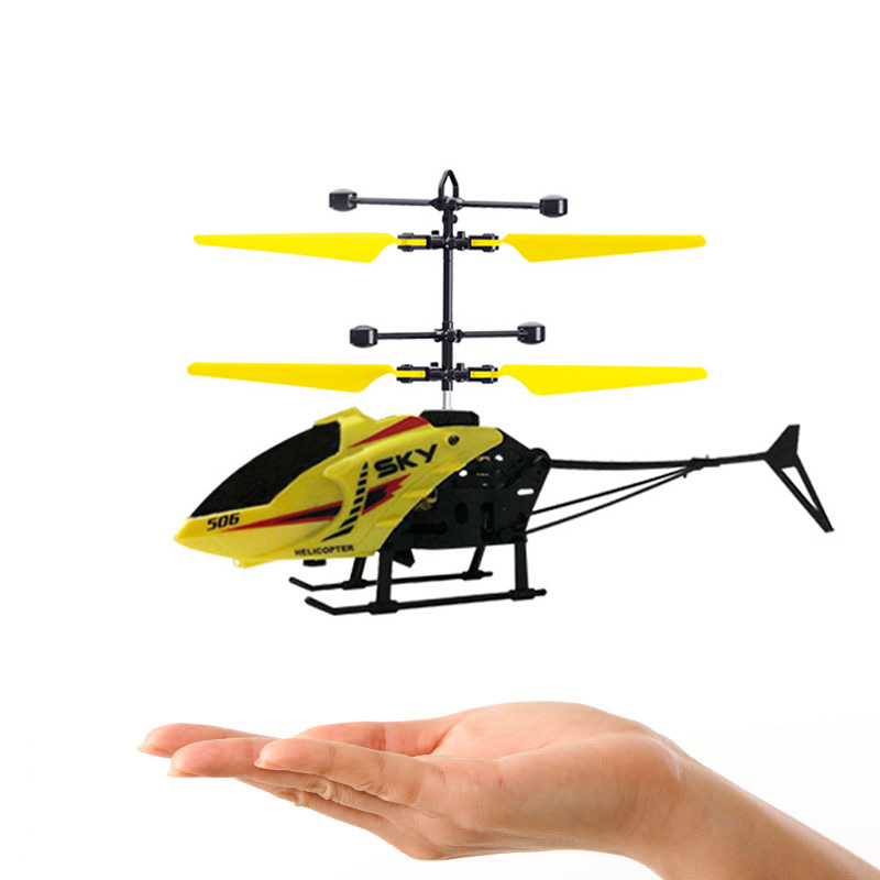 Remote Control Helicopter With Light USB Charging Low Noise For 3-8Y Kids Boys Toys YH-17