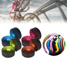 Cycling Road Bike Handlebar Tape Anti-slip Strap Bicycle Handle Bar Tapes Wrap Fixing Straps Bicycle Accessories For MTB 1 pair bicycle cycling pedal straps belts fix bands tape generic for most schwinn