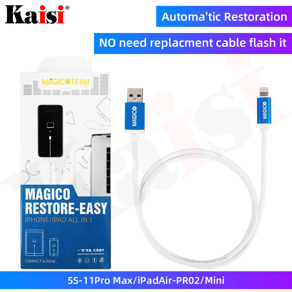 Magico Restore - DFU Cable For IPhone IPad Automatic Restoration Automatic Recovery Mode Upgrade Online Check Serial Number