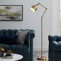 Luxury decorative floor lamp adjustable angle standing LED floor lamp home living room bedroom bedside floor lamp