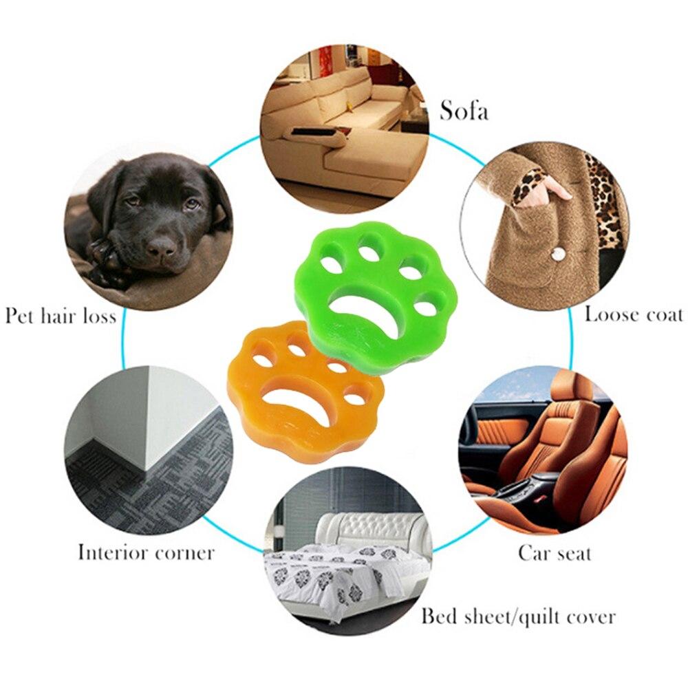 2/4PCS Reusable Laundry Pet Hair Remover 7