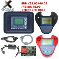 SBB V48.99 V48.88 V46.02 Key Programmer Add New Cars Upgrade SBB V33.02 Same Function AS CK100 +2 Colors MINI ZED BULL