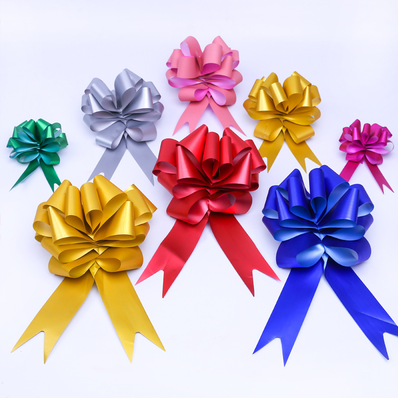 30Pcs Pull Bow Ribbons For Wedding Birthday Party Decoration Flower Gift Wrap US