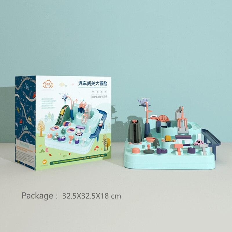 Manipulateur escouade de sauvetage aventure Train piste ensemble course jouets cadeaux pour enfants garçons NSV775 - 6