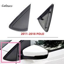 Cafoucs Merk Voor Vw Polo (6R/6C) MK5 2002 2018 Buitenkant Achteruitkijkspiegel Deur Trim Cover Voorruit Driehoek Plaat Frame