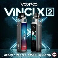 VOOPOO VINCI X 2 Pod Mod 80W Kit de vapeo, tanque Pod de 6,5 ml, MTL, PnP, bobina, Sin batería 18650, vaporizador, cigarrillo electrónico, modo inteligente/RBA