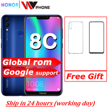 8c Honor 8c 3 Slot Gezicht Id 6.26 Inch Snapdragon 632 Octa Core Front 8.0MP Dual Achteruitrijcamera 4000Mah