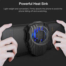Players Cooling-Fan Phone-Cooler Cell-Phone Radiator-Stand Gaming Led-Light Universal