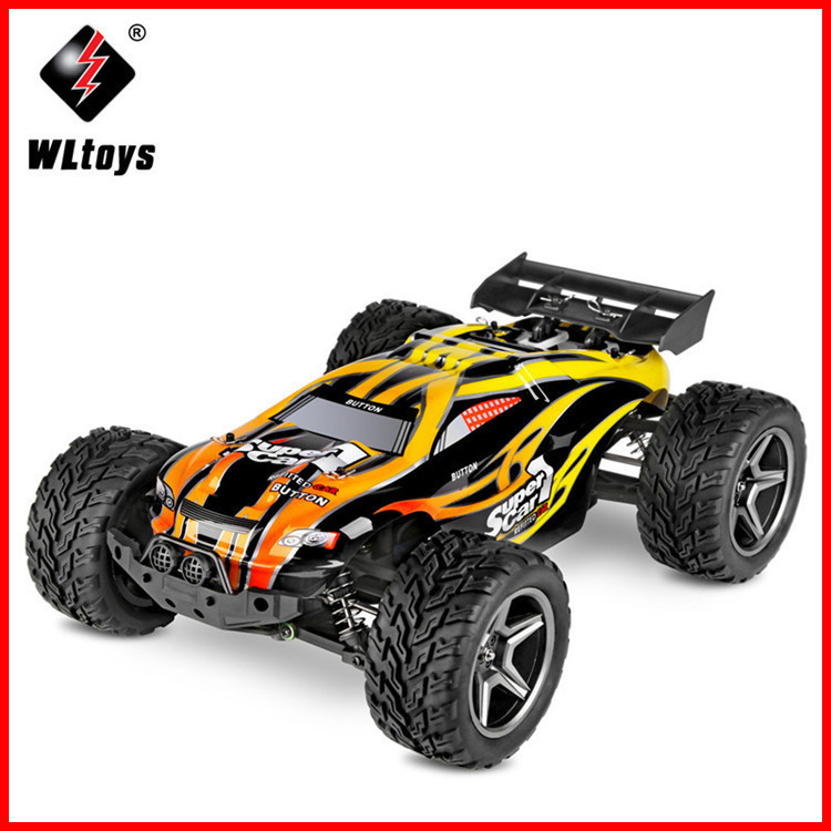 Arrival <font><b>WLtoys</b></font> <font><b>12404</b></font> RC Racing Car 45km/h 1:12 4WD RC Crawler 2.4GHz 2CH Splashproof Dustproof RC Drift Funny Outdoor Toys image