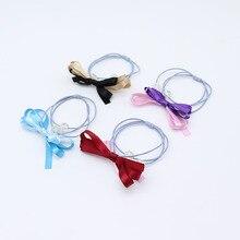 CYHGM girls elastic hair bands plaid vsco scrunchies coletero pelo mujer accesorios diademas crunchy tie G062