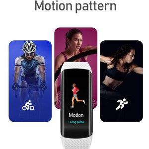 Image 2 - חכם כושר צמיד לחץ דם מדידה כושר גשש עמיד למים חכם להקת שעון קצב לב Tracker עבור נשים גברים