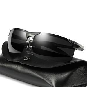 Image 4 - קוצר ראיה Photochromic משקפי שמש diopter מקוטב נהיגה goggle גברים זיקית שינוי צבע מעבר מרשם משקפיים שמש