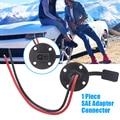1 шт. SAE Удлинительный кабель соединитель 150 мм медный быстроразъемный провод жгут для солнечных батарей автомобиля/грузовика/прицепа/RV бата...