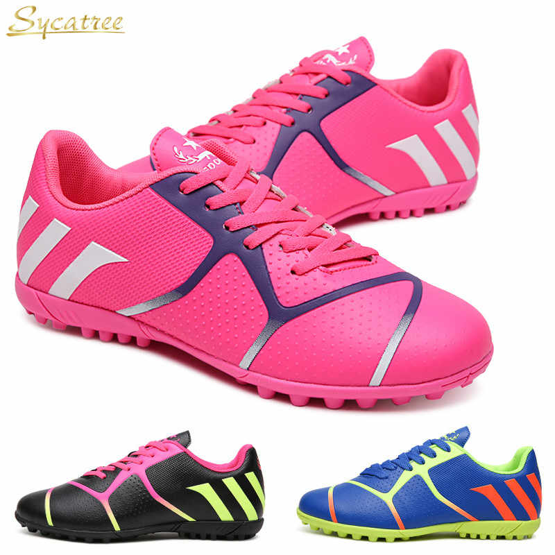 Sycatree 2019 Kids Soccer Shoes for
