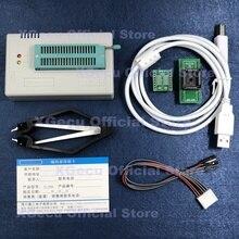V10.33 XGecu TL866II Plus Universal USBสนับสนุน15000 + IC SPI Flash NAND EEPROM MCUเปลี่ยนTL866A TL866CS + 2อะแดปเตอร์