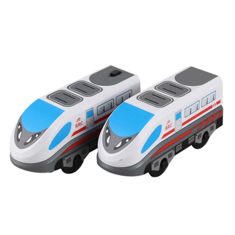 FBIL-Children's Cheap Toy RC Train Set Locomotive Toy High Speed Train