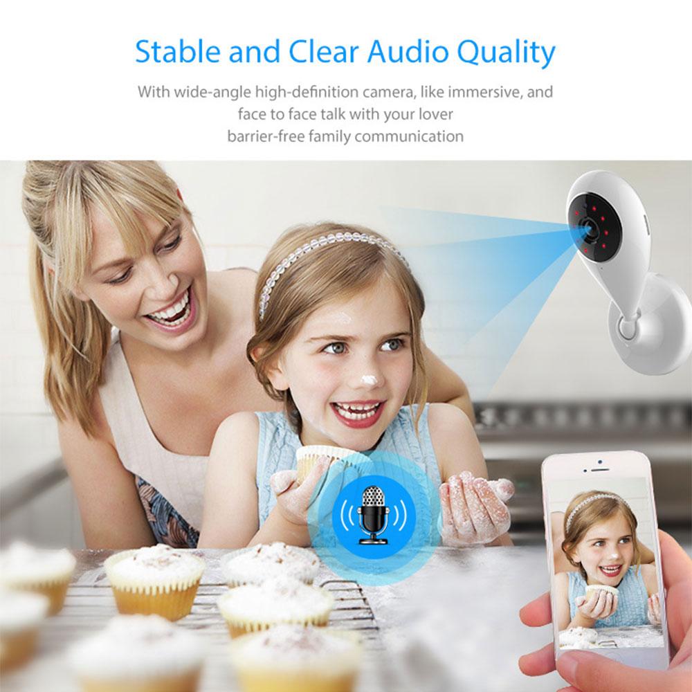 WiFi IP Camera Wireless Smart Home Security Surveillance SmartLife APP Control Two Way Audio Works With Alexa Echo Google Home 5