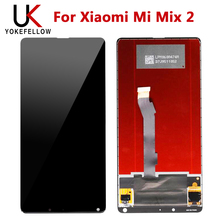 цена на Tested LCD Display For Xiaomi Mi Mix 2 Display with Touch Screen LCD Digitizer for Xiaomi Mi Mix 2  Display Pantalla Screen