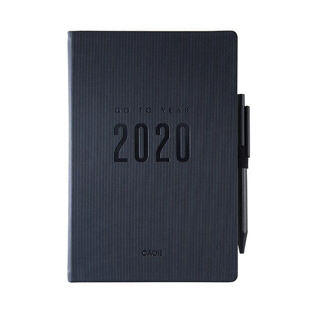 2019/2020 Agendas Planner Organizer 13 Months A5 Diary Notebook and Journals Note Book Weekly Monthly Personal Schedule Handbook 4