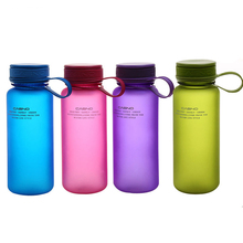 Multicolor Grind Arenaceous Movement Water Cup Portable Outdoor Cute Student Seal Leak Proof Plastic