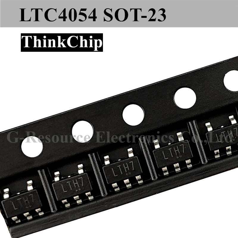 Free Shipping 20pcs/lot LTC4054 4054 LTH7 SOT23-5 For Battery Charger For 1 Cell Of Li-Ion, Li-Pol Battery
