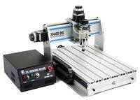 Eixo 3040 CNC 3040Z-DQ 3 USB MACH3 300W CNC ROUTER ENGRAVER/GRAVURA de CORTE de PERFURAÇÃO FRESADORA 220V