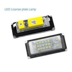 Led License Plate Light Led Canbus Auto Tail Light White LED Bulbs 2 pcs Car Number Lamp For BMW 3er E46 4D 1998-2003