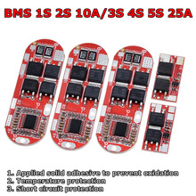 Bms 1s 2s 10a 3s 4s 5s 25a Bms 18650 Li ion Lipo Lithium Battery Protection Circuit Board Module Pcb Pcm 18650 Lipo Bms Charger