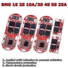 Bms 1s 2s 10a 3s 4s 5s 25a Bms 18650 Li-Ion Lipo Lithium-Batterie Schutz circuit Board Modul Pcb Pcm 18650 Lipo Bms Ladegerät