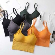 Tube-Top Sexy Camisole Crop-Tops Sports-Bras Fashion Women Streetwear Daisy-Pattern U-Shaped