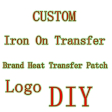 Custom Iron On Transfers For Clothing Brand Logo Patch Iron-on Transfer Thermocollants Thermo Stickers For Clothes Brand Patches