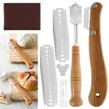 26 pçs/pçs/set pão bakers lame ferramenta de corte massa fazer acessórios de barbear bolo fazer cortador de cozimento acessórios cortador de biscoito