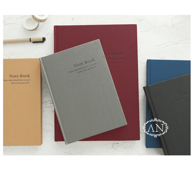 A5 A4 الكلاسيكية بسيطة Hardcopy دفتر الأعمال الرجعية كبيرة Filofax كتيب