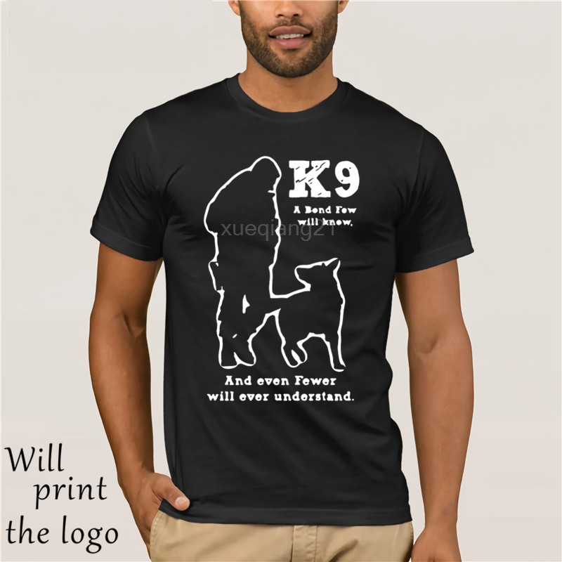 Creature Natural <font><b>K9</b></font> Military Tee <font><b>Shirt</b></font> Man Police Military Dog <font><b>K9</b></font> Mens T <font><b>Shirt</b></font> Fitness Casual T-<font><b>Shirt</b></font> For Men Clothing Crazy image