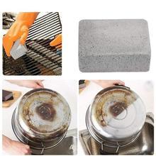 Grill czyszczenie klocek czyszczenie grilla kamień stojaki na grilla plamy smar Cleaner narzędzia do grillowania kuchnia zdobi gadżety tanie tanio Aihogard CN (pochodzenie) Szczotki czyszczące Łatwo czyszczone Foam Glass other BBQ Grill Cleaning Brick Block As Shown