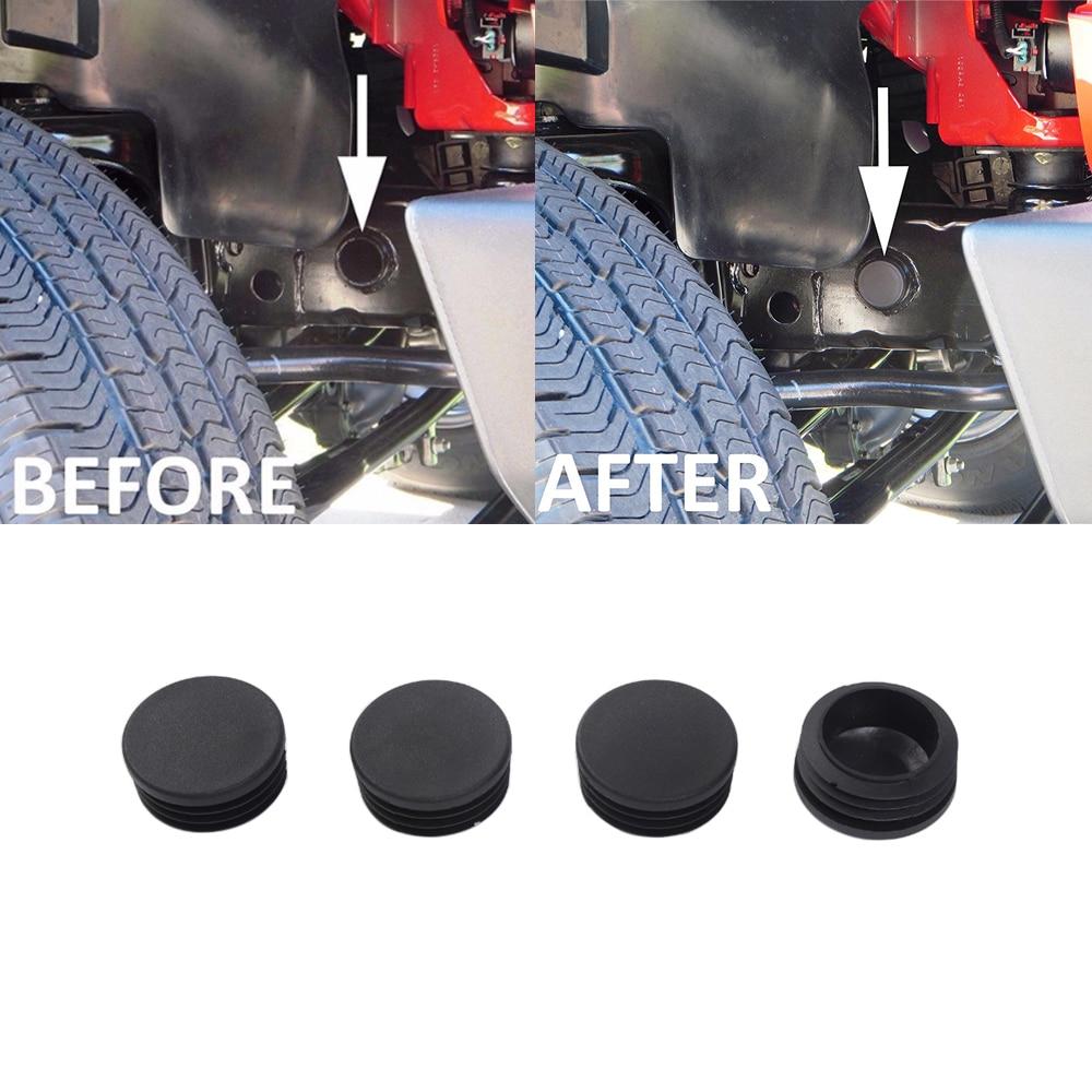 Frame Hole Piug Cover Floor Pan Drain Plug Waterproof Plugs for Jeep Wrangler JK 2007-2017 ABS Black Car Exterior Accessories